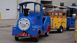 AMJ Spectactular Events Trackless Kiddie Trains
