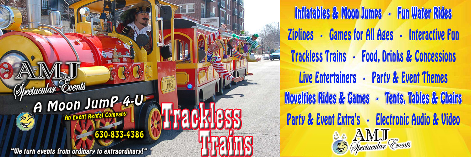 Trackless Train Rentals Chicago Illinois
