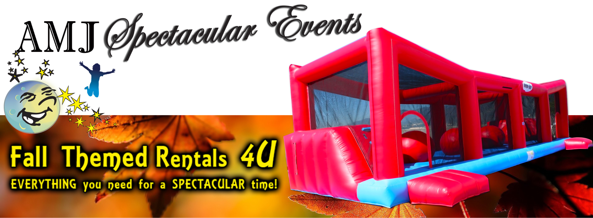 AMJ Spectacular Events Fall Event Party Rentals