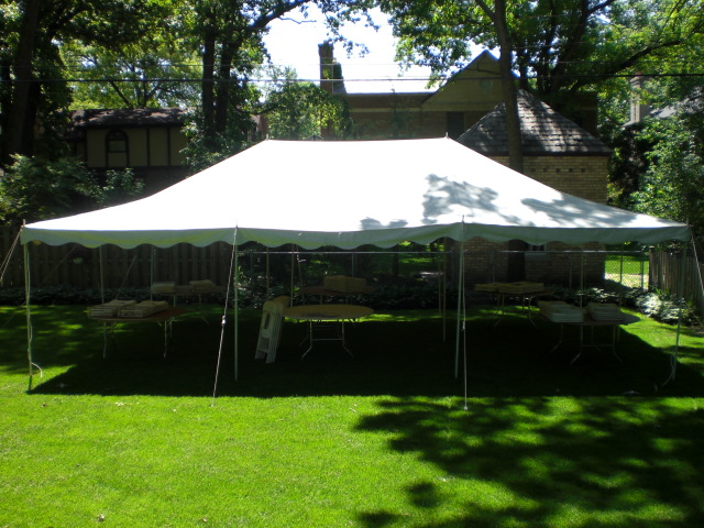 Rent 20x20 Ft Frame Tent In Chicago Il 20 X 20 Tent