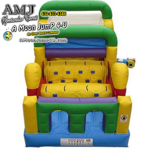 28' Inflatable Obstacle Course Rental