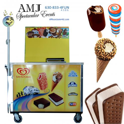 Good Humor Ice Cream Mini Cart Rental