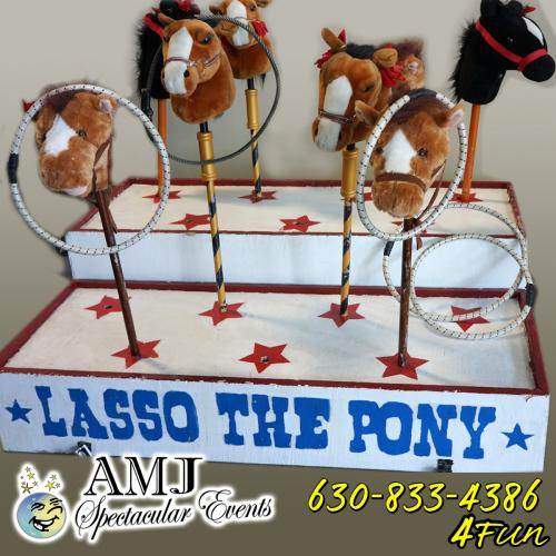 Kiddie Lasso The Pony Game Rental