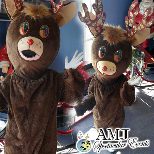 Reindeer Costume Rental, Red Nose Bear Costume Rentals
