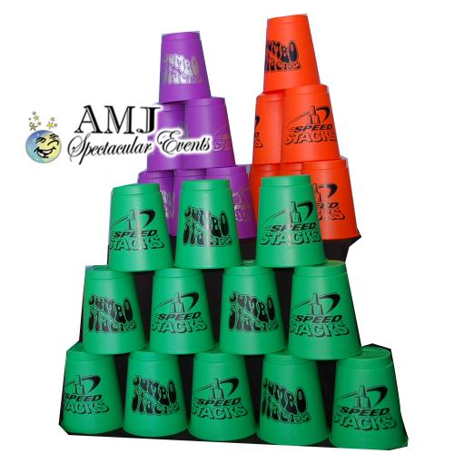 Giant Jumbo Stacking Speed Cups