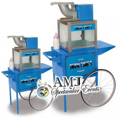 Snow Cone Machine On Cart Rental