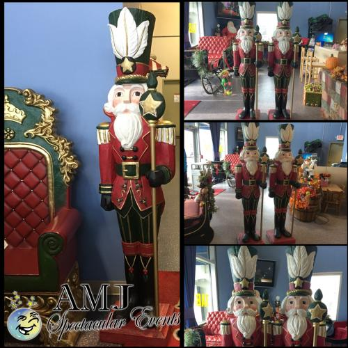 christmas santa soldier rental wooden soldiers and wooden drummer boys statues - Christmas Decorations Wooden Soldiers