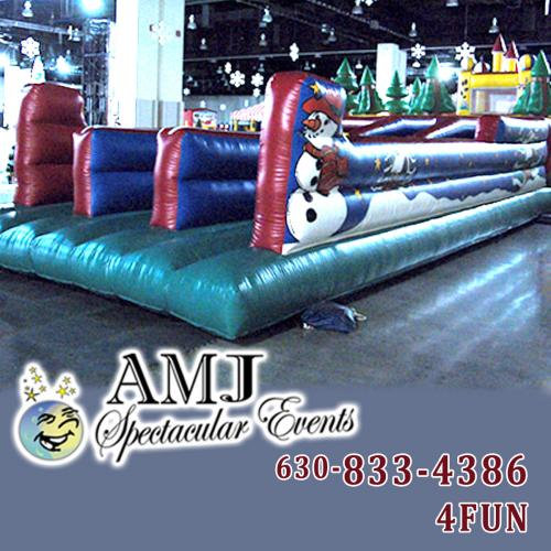 Christmas Themed Bungee Run Rental