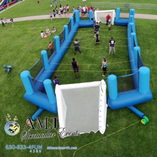 Inflatable Human Foosball Game Rental