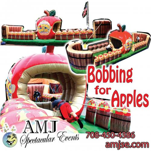 Bobbing for Apples Giant Inflatable