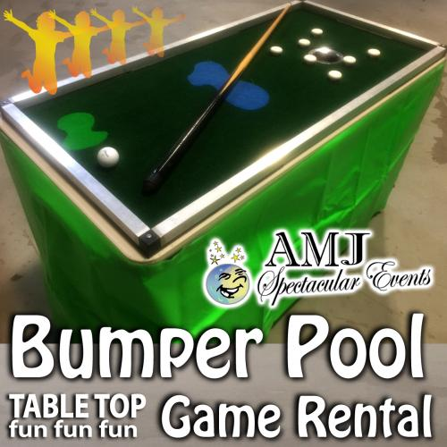 Bumper Pool Table Rental