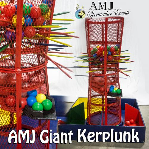 AMJ Spectacular Events Giant-Kerplunk GAME