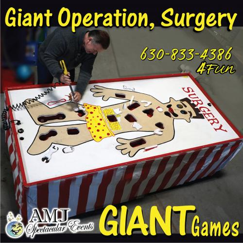 Operation Giant Board Game Rentals