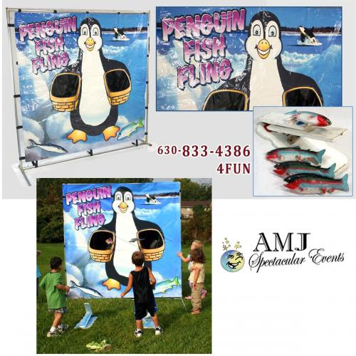 Penguin Fish Fling Game Rental