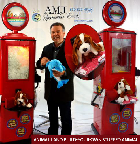 Animal Land Build-Your-Own Stuffed Animal Equipment Rental