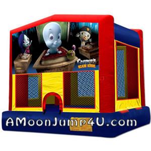 Casper The Friendly Ghost Bounce House Rental