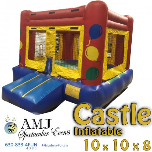 Inflatable Castle Kiddie Bounce House Rental