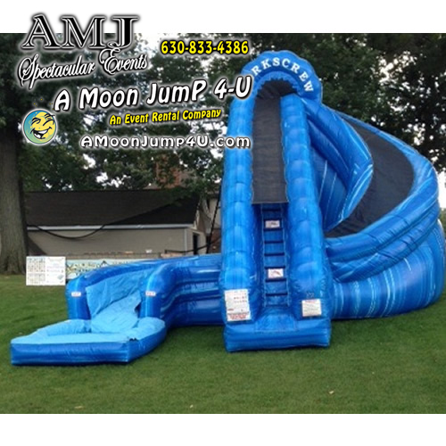 Inflatable Slide Rentals in Chicago | Corkscrew
