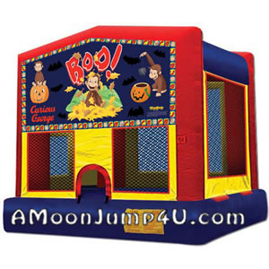 Curious George Moon Jump Rental