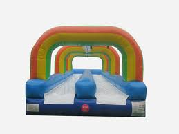 33' Slip-n-slide Double Lane Inflatable Water Slide Rental