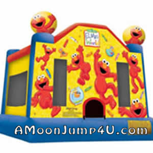 Elmo Moon Jump Rental
