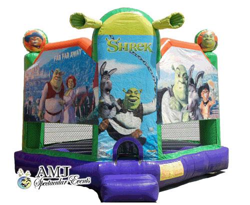 Shrek Club House Bounce House Rental