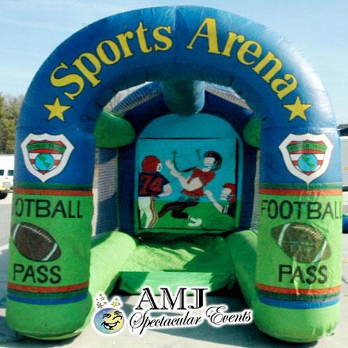 Inflatable Radar Speed Pitching Game Rental - Football, Baseball, Soccer
