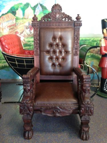 Rent Royal Chair For Santa Claus Or Other Royalty In Chicago IL
