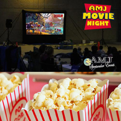 LCD Projector & Outdoor Movie Screen Rental