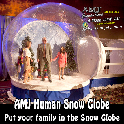 Human Scaled Snow Globe Rental
