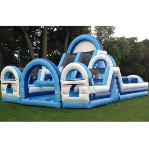 Massive Inflatable Obstacle Course Rental