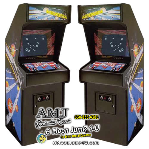 Asteroids Full-Size Arcade Game Rental