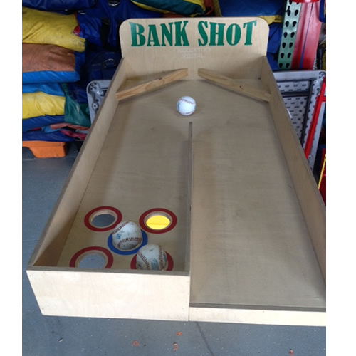 Rent Bank Shot Carnival Game In Chicago Il Fun Fair Game