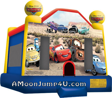 Cars Bounce House Rental