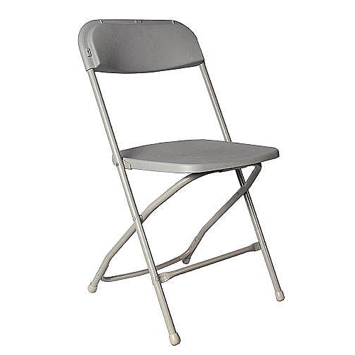Rent Kids Gray Plastic Folding Chairs in Chicago IL