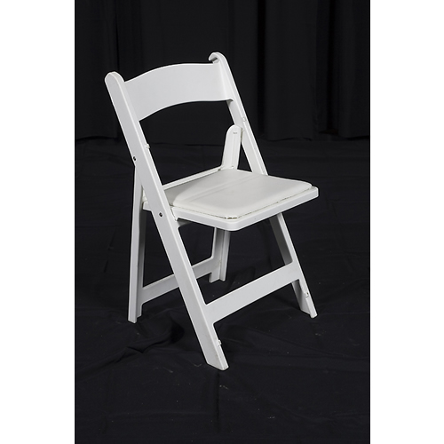 Rent White Wooden Folding Chairs in Chicago IL