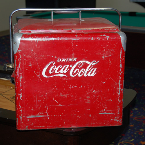 Coca-Cola Cooler Decoration Rental