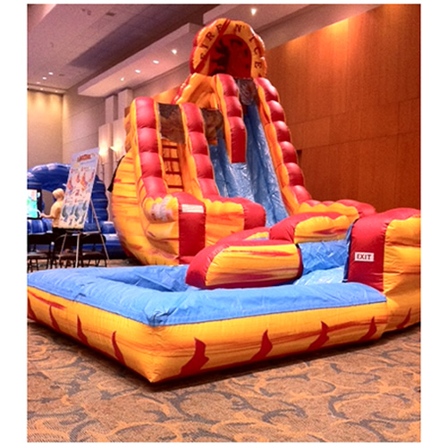 Double Water Slide Rental In Chicago Amj Spectacular