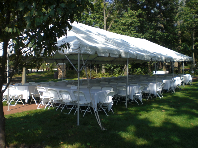 Rent 20x40 ft Frame Tent in Chicago, IL | 20\' x 40\' Tent for Events ...