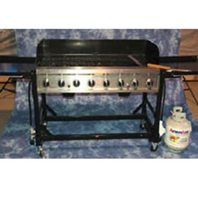 Commercial Gas Grill Rental