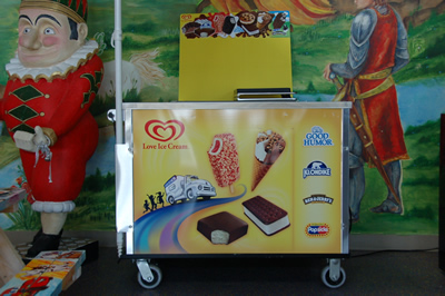 Rent Good Humor Ice Cream Mini Cart In Chicago Il
