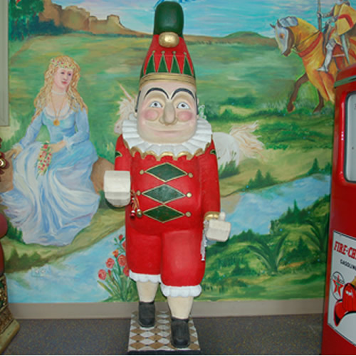 Jolly Elf Statue Rental
