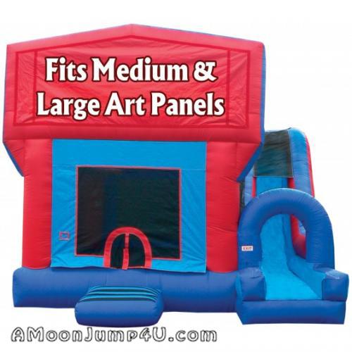 4-in-1 Jump-n-Splash Bounce House + Slide Rental