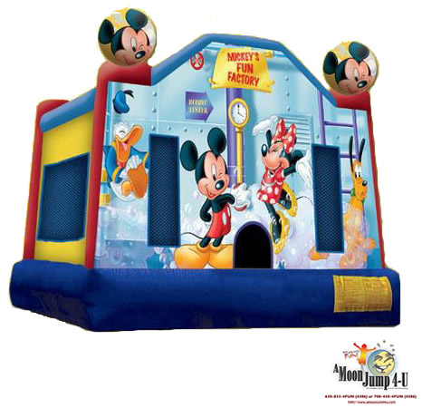 Mickey Mouse Clubhouse Moon Jump Rental