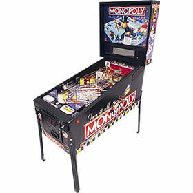 Monopoly Pinball Game Rental