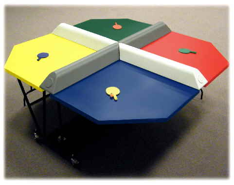 Poly Pong Multi-Player Table Tennis Equipment Rental