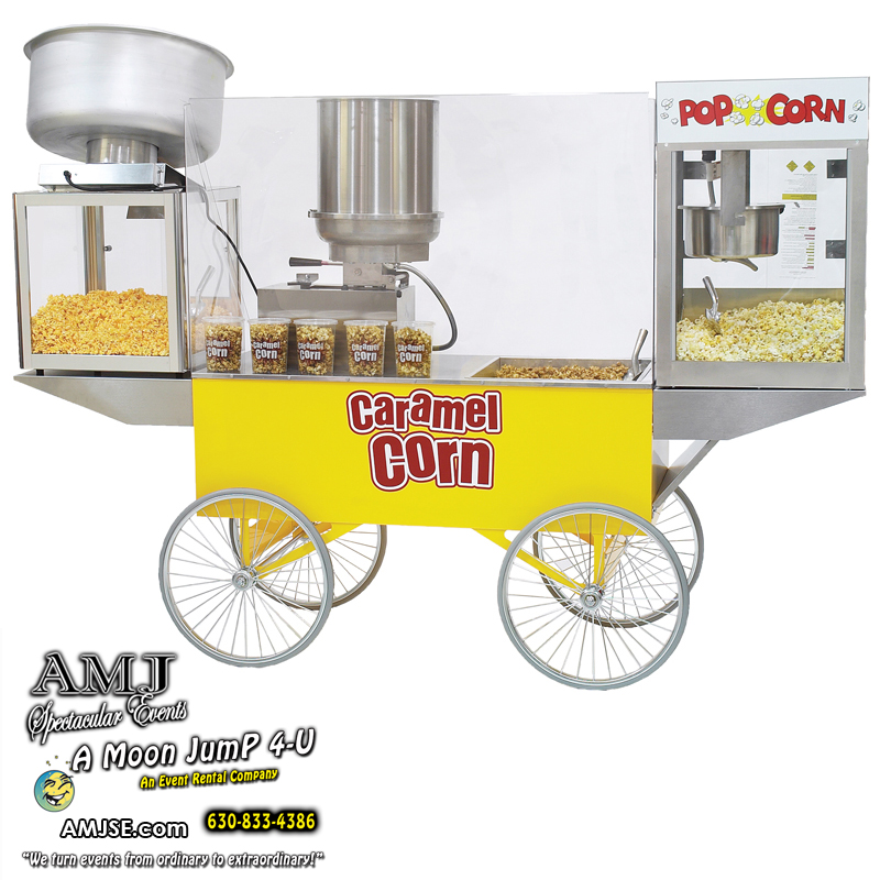 Caramel or Cheese Corn Cart