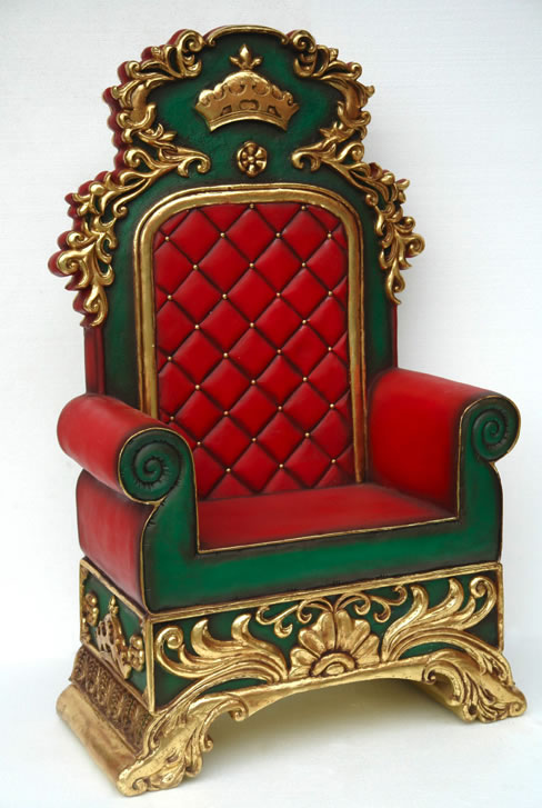 Santa Claus Chair / Throne Rental