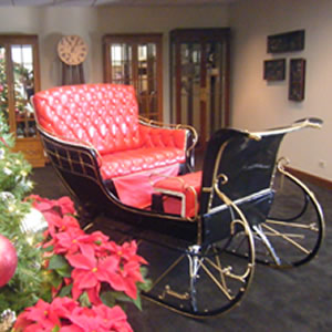 Rent Santa Sleigh In Chicago Il Santa Claus Sled For