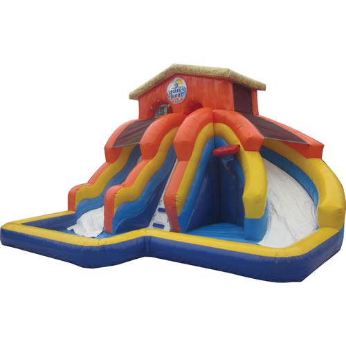 Splash Island Kiddie Water Slide (Ages 2-10) Rental